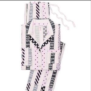 NWT Victoria's Secret The Flannel Pajamas M